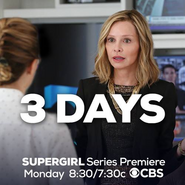3 days until the Supergirl series premiere