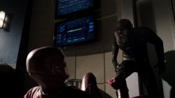 Hunter Zolomon and the Flash in the Speed Force