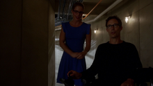 Eobard and Felicity