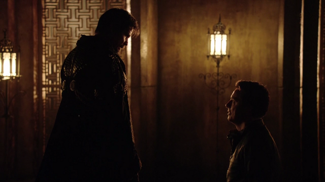 File:Malcolm Merlyn begs Ra's al Ghul for mercy.png