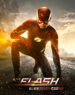 The Flash season 2 poster - Kneel Before Zoom