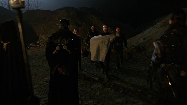 File:Oliver, Malcolm, Diggle, and Felicity arrive in Nanda Parbat.png