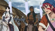 Jaswant with the Parsian army