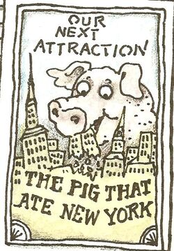 The pig that ate new york