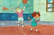 4th Graders Playing Basketball