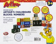 Number blocks box back