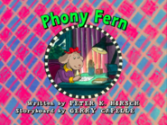 Phony Fern 38