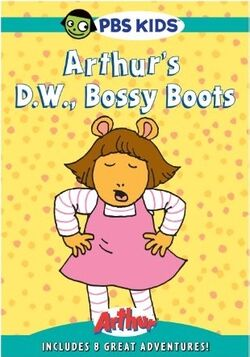 D.W., Bossy Boots DVD