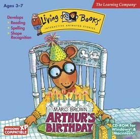 Arthur's Birthday LB Cover