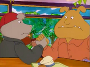 Binky and Rattles Arm Wrestle (Arthur's Mystery Envelope)