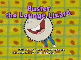 BustertheLoungeLizard title card 2