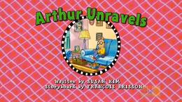 Arthur Unravels title card 2
