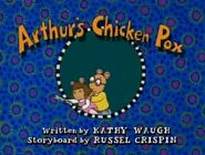 03 Arthur's Chicken Pox Title Card
