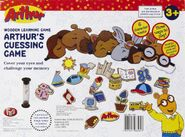 Arthur's guessing game box back