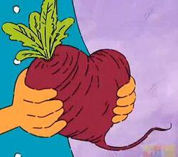 Heart-Shaped Beet
