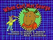When Carl Met George 16