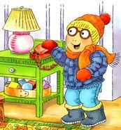 Arthur and the Big Snow - Arthur's Winter Gear