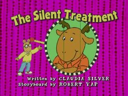 Silent treatment title