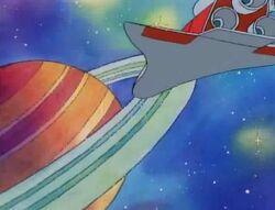 Saturn cartoon
