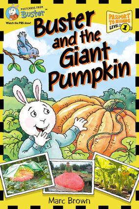 Buster and the Giant Pumpkin cover