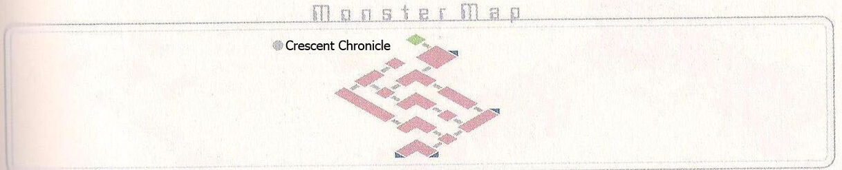Crescent Chronicle Monster Map