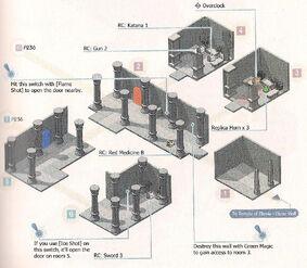 Temple of Elemia - Center Area Map 1