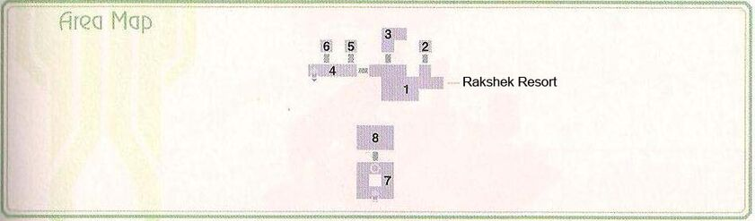 Rakshek Resort Basement Area Map