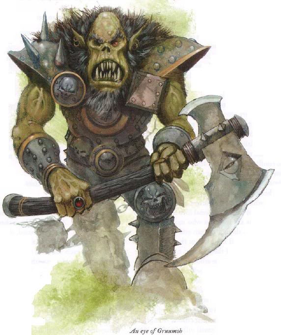 Gruumsh, God Of Conquest