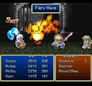 Fiery Wave (ToD PSX)