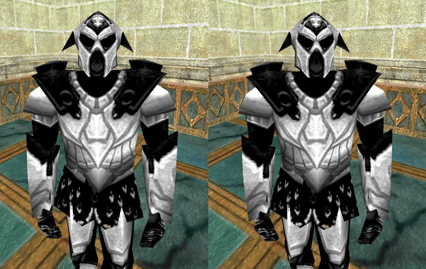 Stereoscopic Alduressa Armor