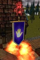 Celestial Hand Banner of the Spire (Claimed) Live