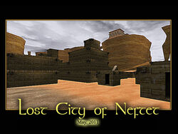 Lost City of Neftet Splash Screen