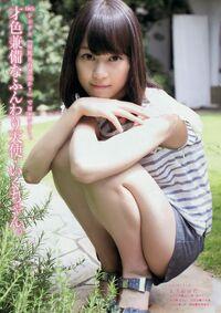 Nogizaka46-Nogizaka46+Mai+Shiraishi+and+Erika+Ikuta+Bi+no+Keifu+on+Young+Magazine+003