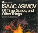 Of Time and Space and Other Things