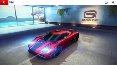 A8A Koenigsegg Agera R Garage