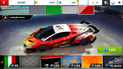 Lamborghini Veneno Decal 17