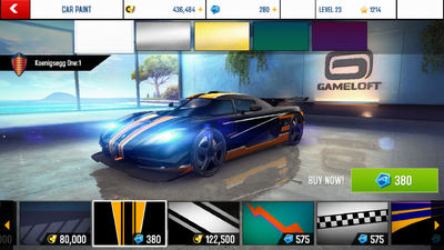 Asphalt 8 Decal