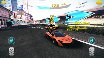 Asphalt 8 multiple knockdown