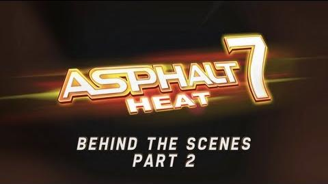 Asphalt 7 Heat - Developer Diary Part 2