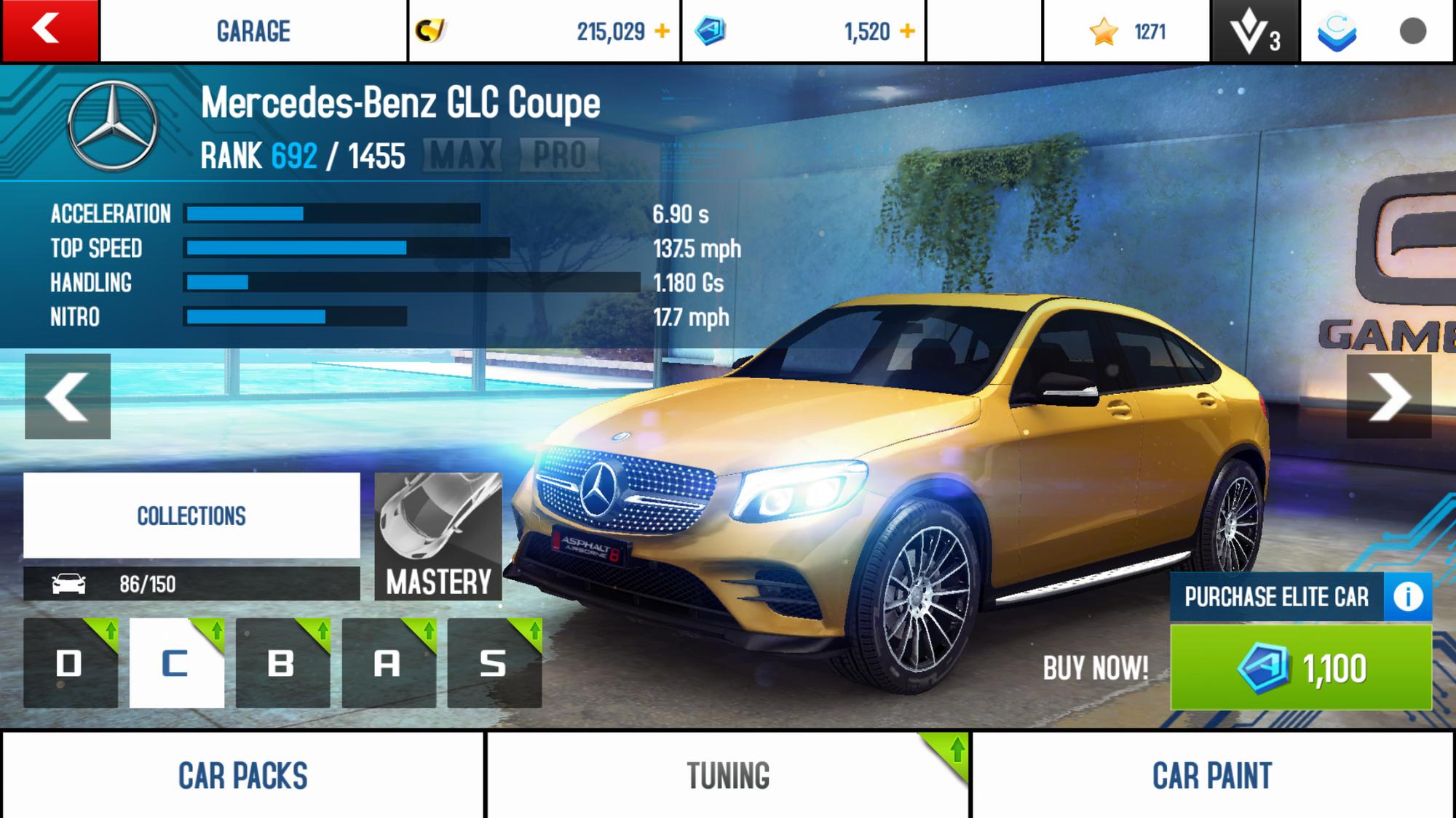 Mercedes benz glc coupe asphalt wiki fandom powered by for Mercedes benz biome wiki