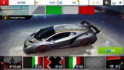 Lamborghini Veneno Decal 12