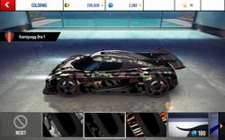 Koenigsegg One-1 Decal 2