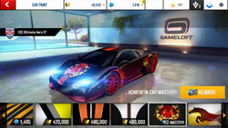 SSC Ultimate Aero XT Decal Dragonflame