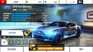 2015 Ford Mustang MAX