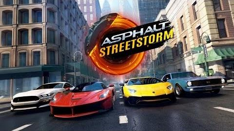 ASPHALT STREET STORM RACING Android iOS Gameplay Video
