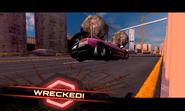 Murcielago Wreck