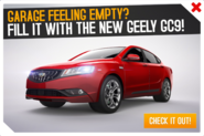 Geely GC9 ad
