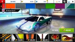 SSC Ultimate Aero XT Decal 23