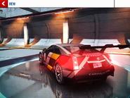 Cadillac CTS-V Coupe Race Car Rear