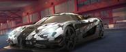 A8 Koenigsegg One-1 in-game art